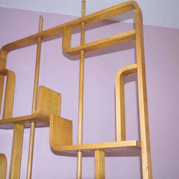 claustra ou tag re de s paration intemporadeco. Black Bedroom Furniture Sets. Home Design Ideas